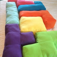Tetris Pillows (Tetrominoes)