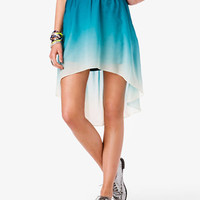 Ombré High-Low Skirt | FOREVER21 - 2020859928