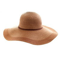 Two-tone straw hat - scarves &amp; hats - Women&#x27;s accessories - J.Crew