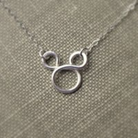 Mickey Mouse Necklace Sterling Silver Disney Fan Flower girl gift Disney Weddings