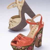 Printed Heel Sandal - Report® - Victoria's Secret