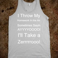 I&#x27;ll Take A Zero! - Funny and Inspiring - Skreened T-shirts, Organic Shirts, Hoodies, Kids Tees, Baby One-Pieces and Tote Bags