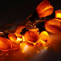 Every Flower Is Illuminated in Citrus | Mod Retro Vintage Decor Accessories | ModCloth.com