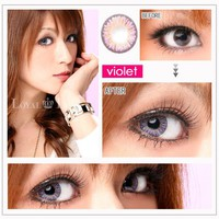 NEO Princess Purple Violet circle lens - color contacts | EyeCandy&#x27;s