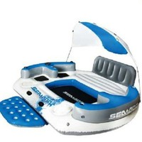 Sea-Doo Dream Island 7-Person Inflatable with MP3 System, Multi