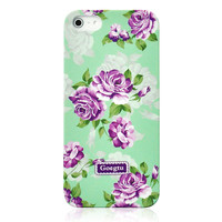 Villatic Style Garden Frosted Phone Case For iPhone 5