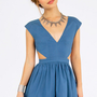 Schrock Frock Cutout Dress $39