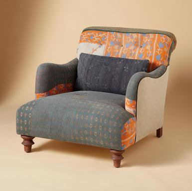 ONE OF A KIND HIMANI SARI ARMCHAIR - Sari Chairs - One of a Kind - Furniture & Decor | Robert Redford's Sundance Catalog