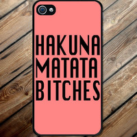 Iphone case Hakuna Matata Iphone 4 case cool awesome Iphone 4s case