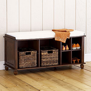 Eureka Storage Bench Living Room From Cost Plus World Market