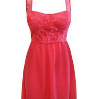 The 2013 lace Chiffon Dress - 29 N Under