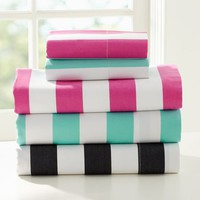 Cottage Stripe Sheet Set