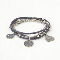 Free People Suede Wrap Bracelet