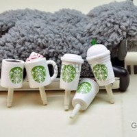 Amazon.com: 10pcs Starbucks Coffee Cup 3.5mm Anti Dust Earphone Jack Plug Stopper Cap for Iphone HTC: Cell Phones &amp; Accessories