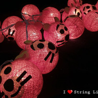 Tigger cotton dolls String Lights For Wedding and House decoration (20 balls/Set)