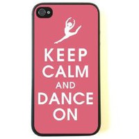 Amazon.com: iPhone 4 Case - Silicone Case Protective iPhone 4/4s Case- Keep Calm Dance On: Cell Phones & Accessories