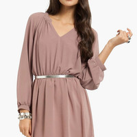 Tara Chiffon Dress $33