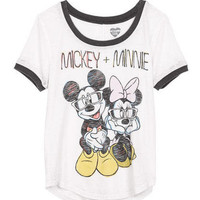 Mickey + Minnie Tee