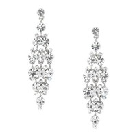 Jon Richard Solitaire Crystal Diamond Chandelier Earring- at Debenhams Mobile