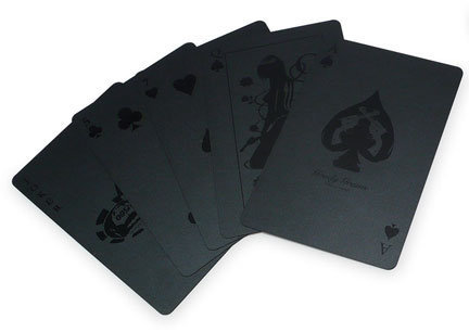 Black Deck of Cards by Goody Grams for Goody Grams - Free Shipping