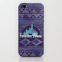 forever young iPhone & iPod Skin by Sara Eshak | Society6