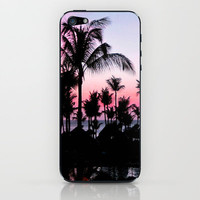 Pink Sunset iPhone & iPod Skin by Laura Nappi | Society6