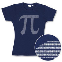 ThinkGeek :: Pi by Numbers Babydoll