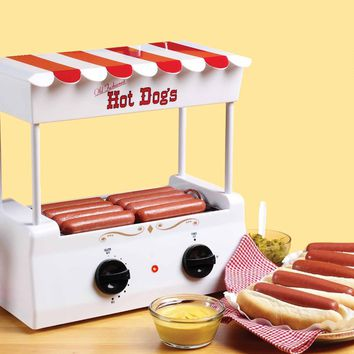 Nostalgia Electrics HDR565 Vintage Collection Old Fashioned Hot Dog Roller