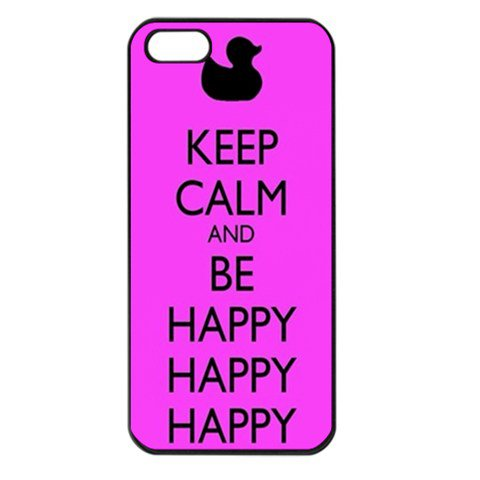 Duck Dynasty Keep Calm and be Happy pink Apple iPhone 5 Case on Wanelo