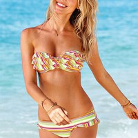 Stripe Push-Up Bandeau Top - Victoria's Secret