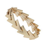 Overlay V Section Bracelet - Jewelry - Bags &amp; Accessories - Topshop USA