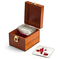 ThinkGeek :: Dexter Blood Spattered Coasters