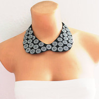 Peter Pan Collar - Sparkling Peter Pan Collar Necklace