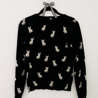 French Bulldog Sweater 100% Cotton
