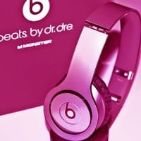New! Metallic HOT Pink Skins for Solo / Solo Hd Beats By Dr. Dre - (Headsets Not Included): Electronics