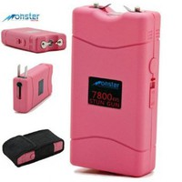 THE SPY SPOT - 7.8 Million Volt Rechargeable Stun Gun w/Built-in LED Flashlight &amp; Holster: Sports &amp; Outdoors