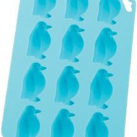 Amazon.com: HIC Brands that Cook Silicone Penguin Ice Cube Tray and Baking Mold, 8 by 4-1/4-Inch: Kitchen & Dining