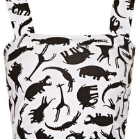 Jungle Animal Bralet - Topshop