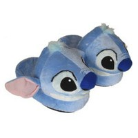 "Amazon.com: Disney Stitch Slippers Plush -- (universe Kid's size -- 7.5""): Toys & Games"