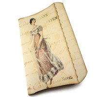 Jane Austen Journal Jane Austen Art Journal Regency Journal by Istriadesign