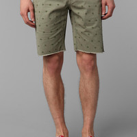 Hawkings McGill Patterned Cutoff Chino Short