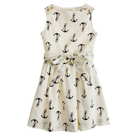 Girls&#x27; candy anchor dress - party - Girl&#x27;s dresses - J.Crew