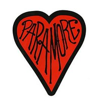 Paramore Heart Sticker - 639263