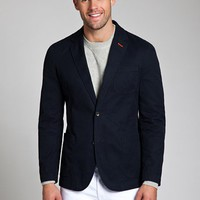 Bonobos Men&#x27;s Clothing | The Washed Chino Blazer - Navy