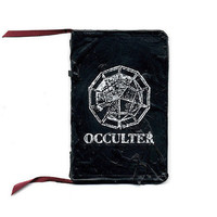 OCCULTER - RUBBER SEALED NOTEBOOK by Occulter
