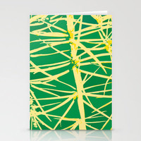 Mellow Yellow Stationery Cards by Rosie Brown | Society6