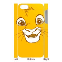 SIMBA CUTE FACE Iphone 5 case Iphone 4 4s case