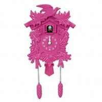 Wake Up Frankie - Cuckoo Clock - Pink : Teen Bedding, Pink Bedding, Dorm Bedding, Teen Comforters