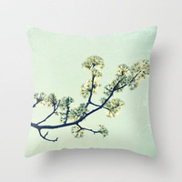 Spring Forward Throw Pillow by RDelean