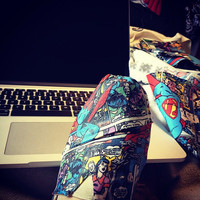 Superman Comic Strip Toms